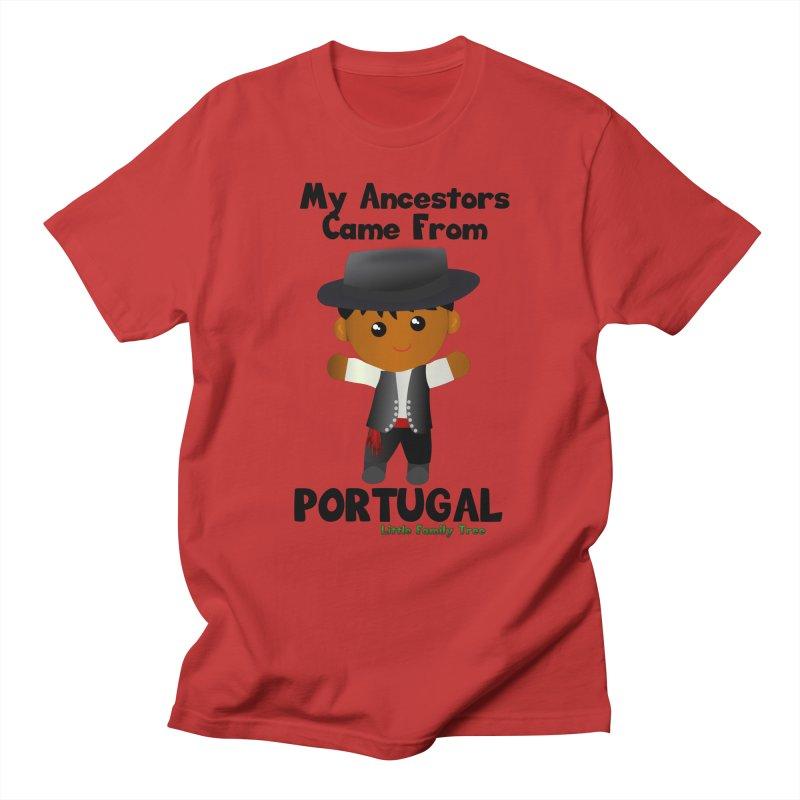 Portugal Ancestors Boy Men's T-Shirt by Yellow Fork Tech's Shop