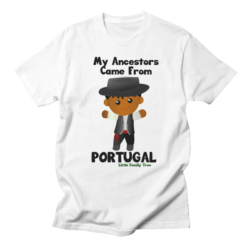 Portugal Ancestors Boy Men's T-Shirt by Yellow Fork Tech's Shop