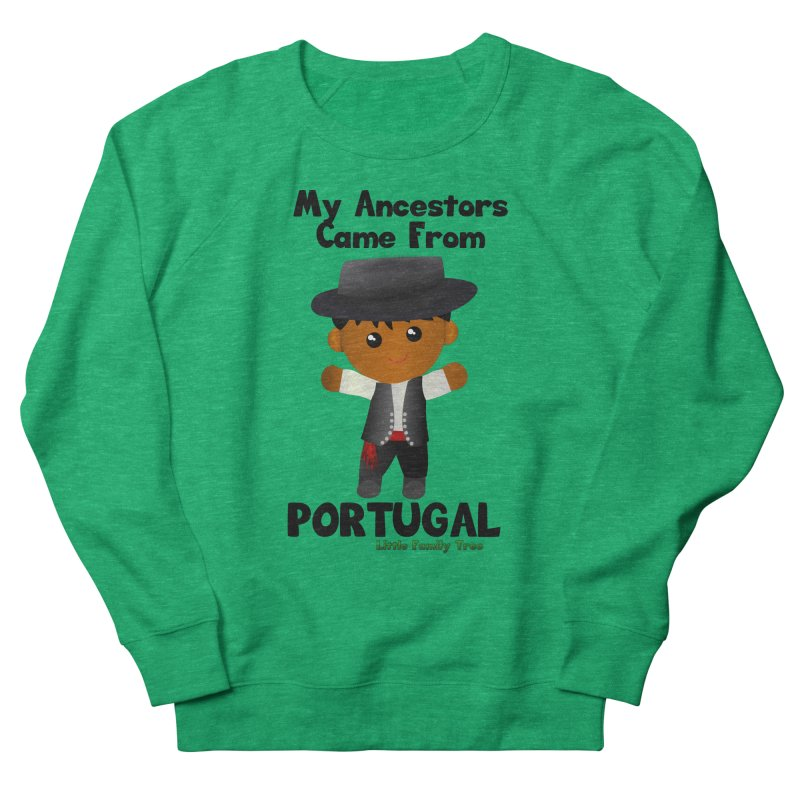 Portugal Ancestors Boy Men's Sweatshirt by Yellow Fork Tech's Shop