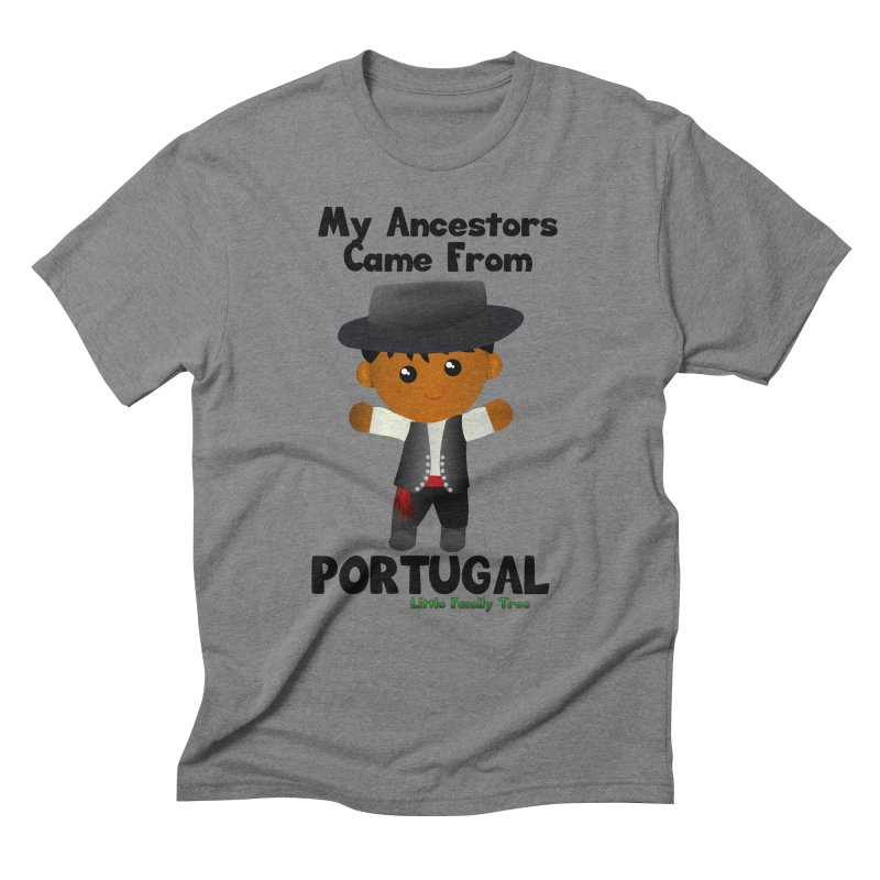 Portugal Ancestors Boy Men's Triblend T-Shirt by Yellow Fork Tech's Shop