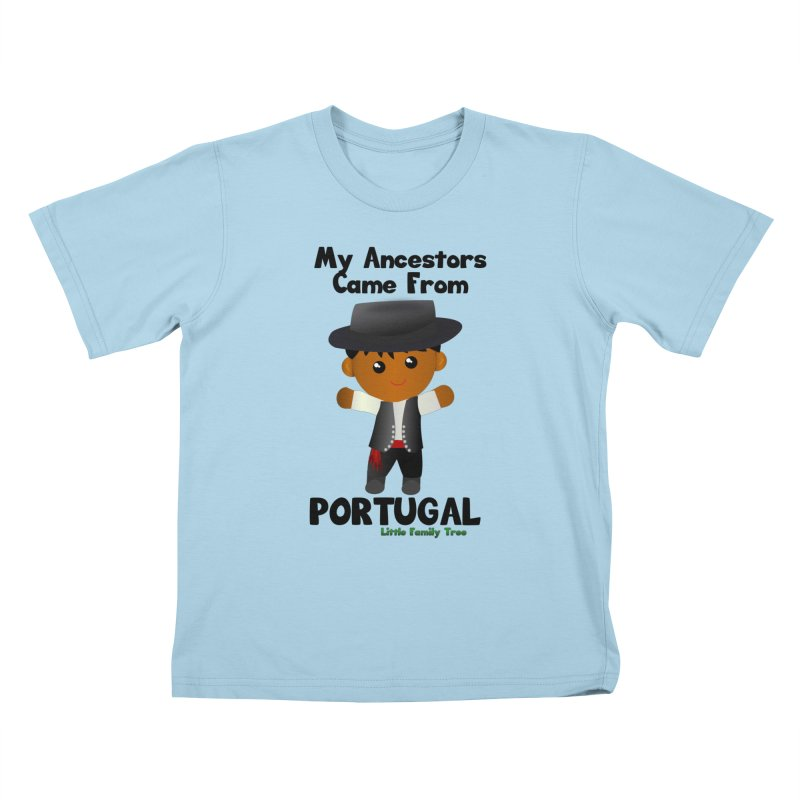 Portugal Ancestors Boy Kids T-Shirt by Yellow Fork Tech's Shop