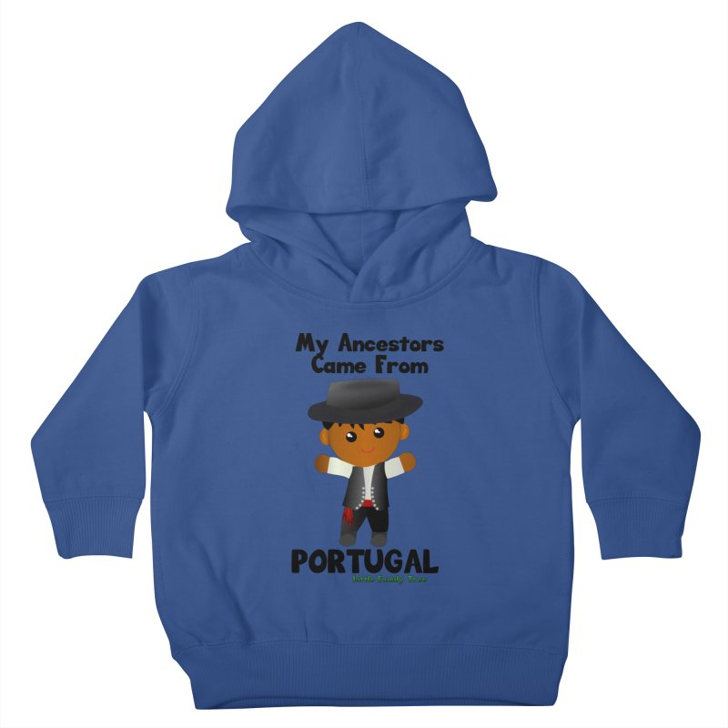 Portugal Ancestors Boy Kids Toddler Pullover Hoody by Yellow Fork Tech's Shop