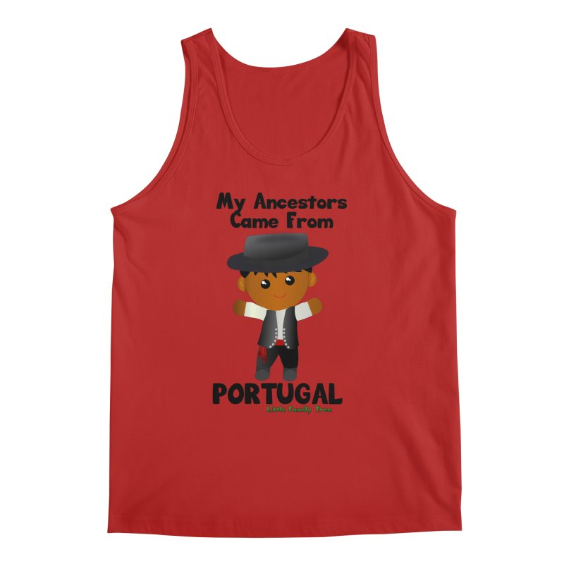 Portugal Ancestors Boy Men's Tank by Yellow Fork Tech's Shop