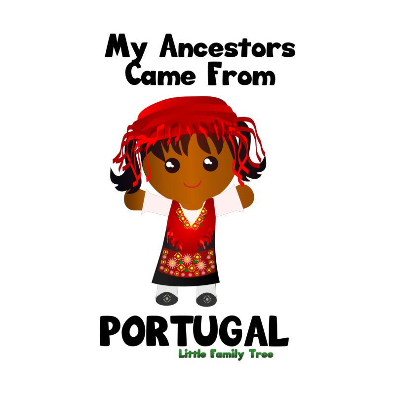 Portugal Ancestors Girl Women's Baseball Triblend T-Shirt by Yellow Fork Tech's Shop