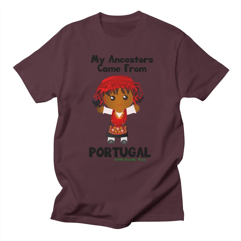 Portugal Ancestors Girl Women's Unisex T-Shirt by Yellow Fork Tech's Shop