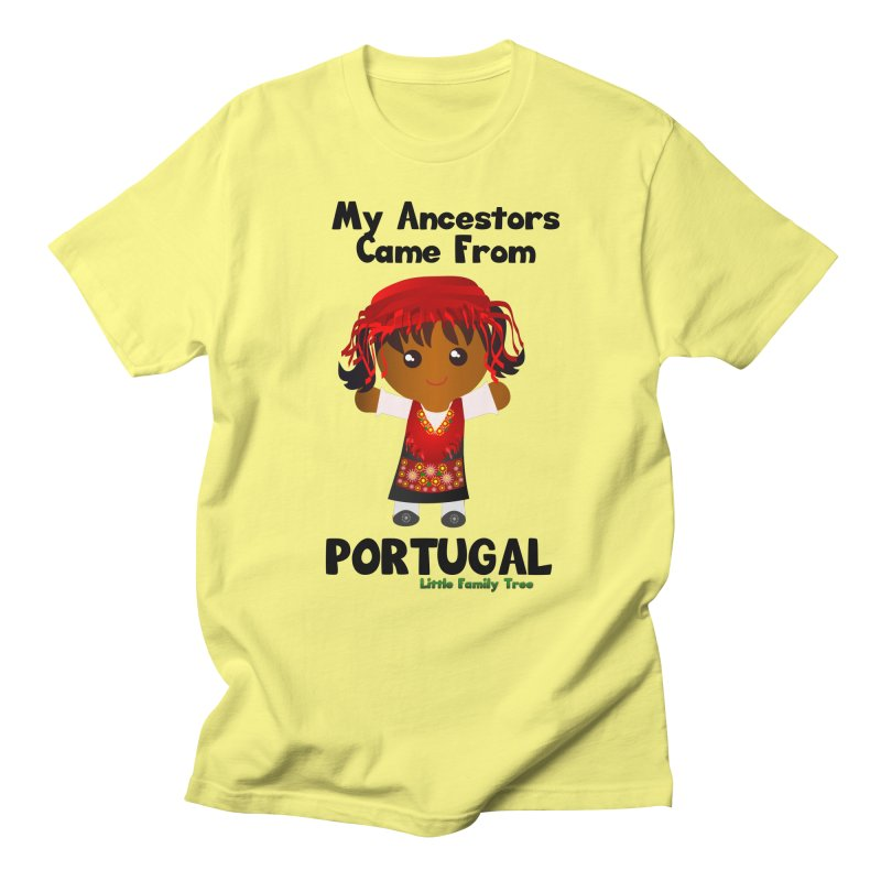 Portugal Ancestors Girl Women's Unisex T-Shirt by Yellow Fork Tech's Shop