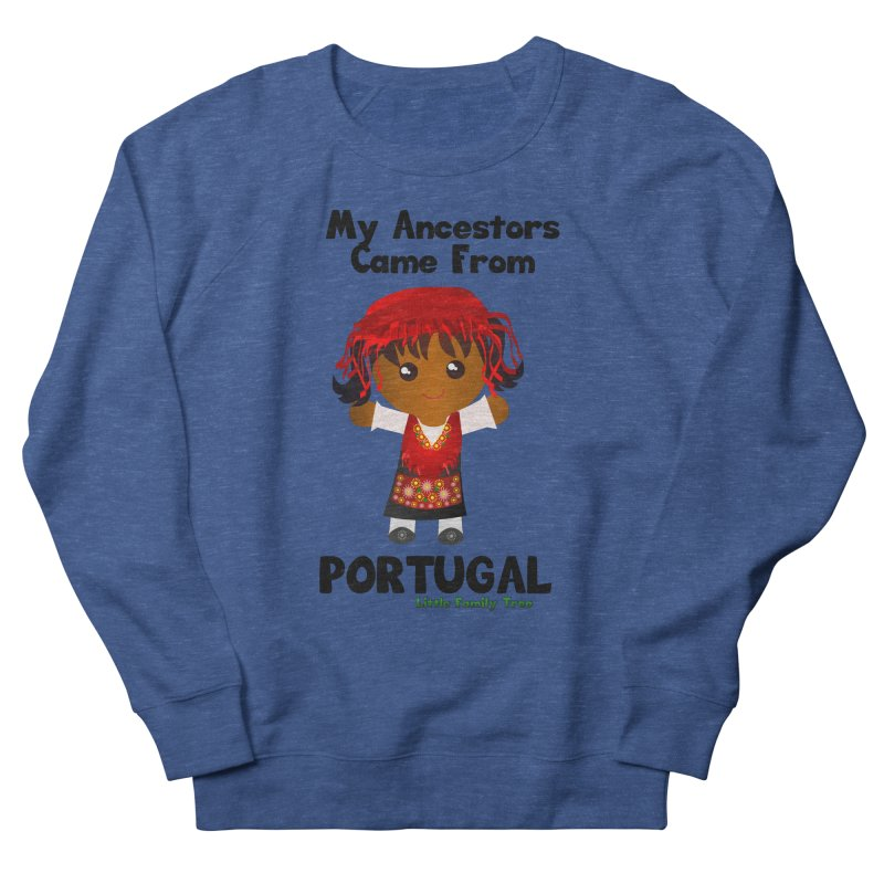 Portugal Ancestors Girl Women's Sweatshirt by Yellow Fork Tech's Shop
