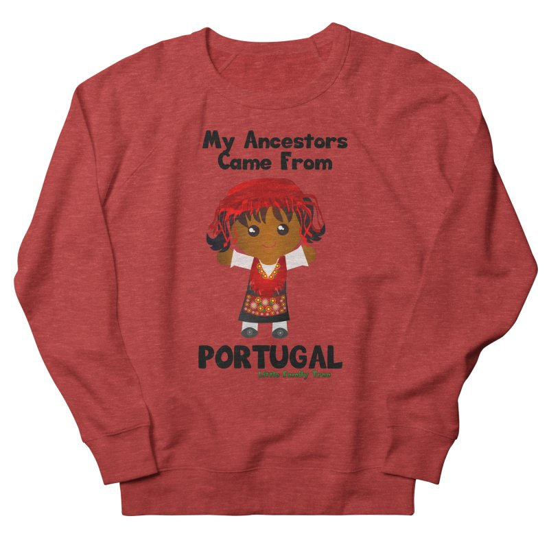 Portugal Ancestors Girl Women's Sweatshirt by Yellow Fork Tech's Shop