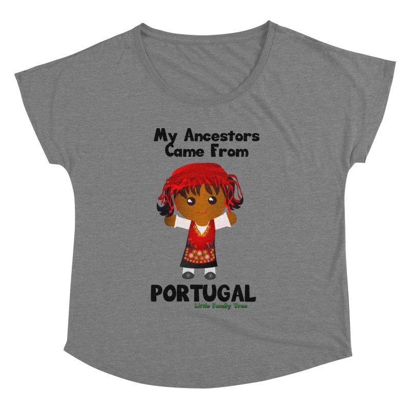 Portugal Ancestors Girl Women's Dolman by Yellow Fork Tech's Shop