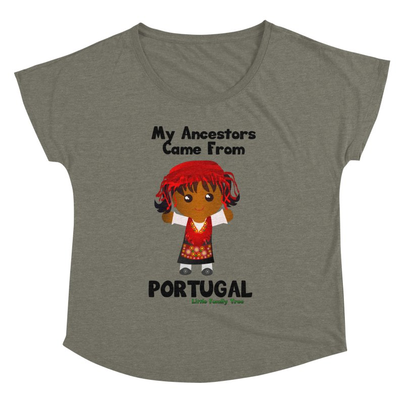Portugal Ancestors Girl Women's Dolman by Yellow Fork Tech's Shop