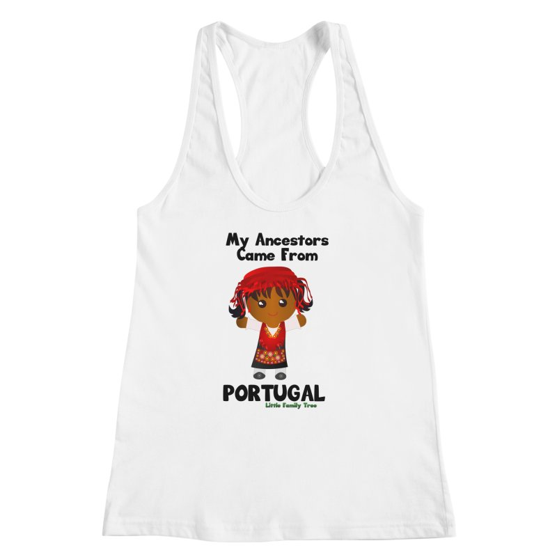 Portugal Ancestors Girl Women's Racerback Tank by Yellow Fork Tech's Shop