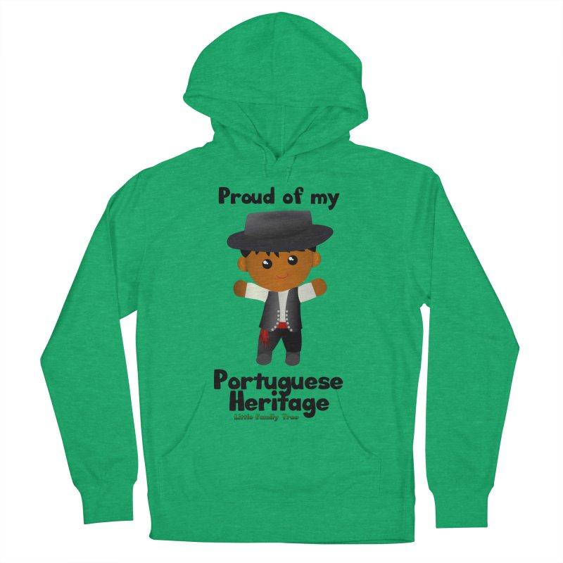 Portuguese Heritage Boy Men's Pullover Hoody by Yellow Fork Tech's Shop