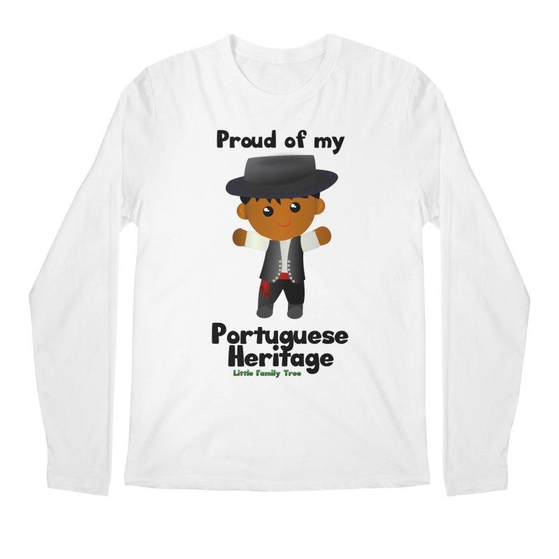Portuguese Heritage Boy Men's Longsleeve T-Shirt by Yellow Fork Tech's Shop