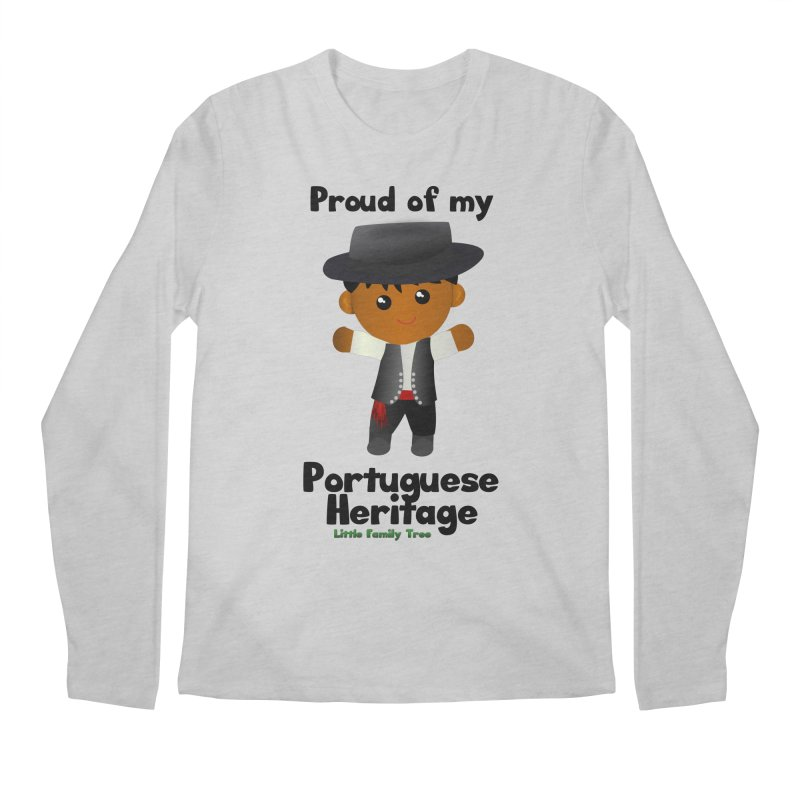 Portuguese Heritage Boy Men's Longsleeve T-Shirt by Yellow Fork Tech's Shop