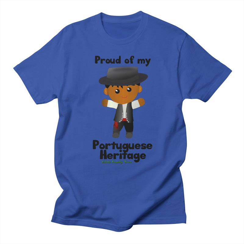 Portuguese Heritage Boy Men's T-Shirt by Yellow Fork Tech's Shop