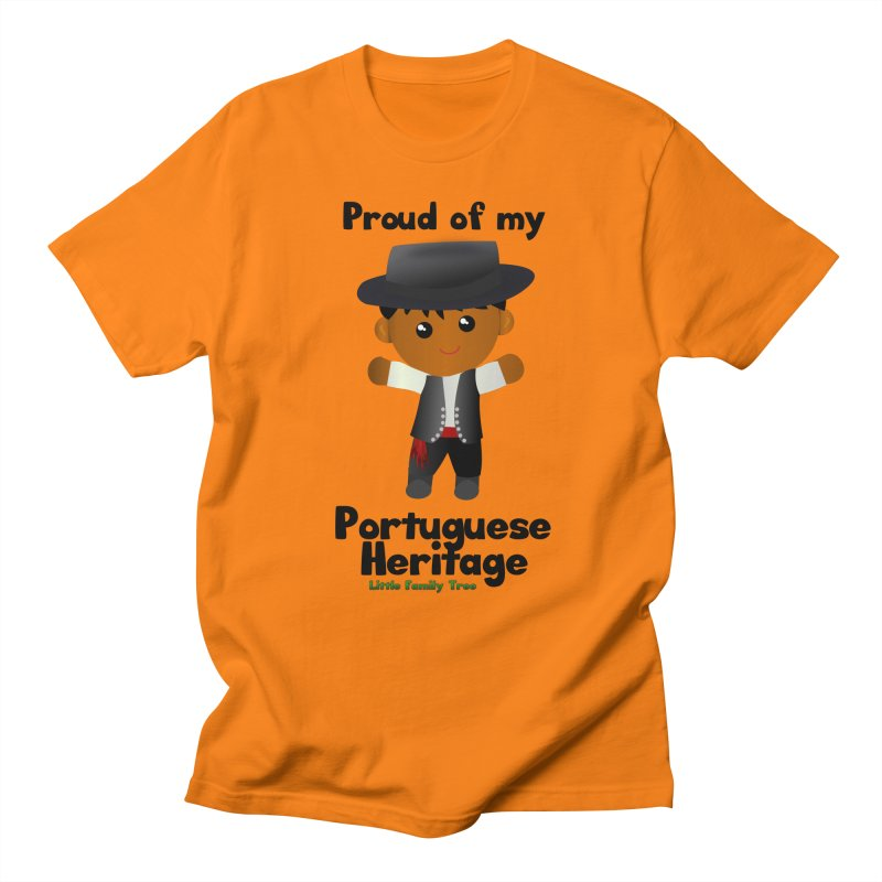 Portuguese Heritage Boy Men's T-Shirt by Yellow Fork Tech's Shop