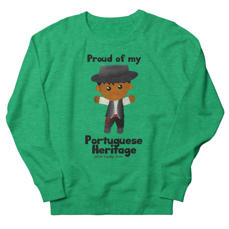 Portuguese Heritage Boy Men's Sweatshirt by Yellow Fork Tech's Shop