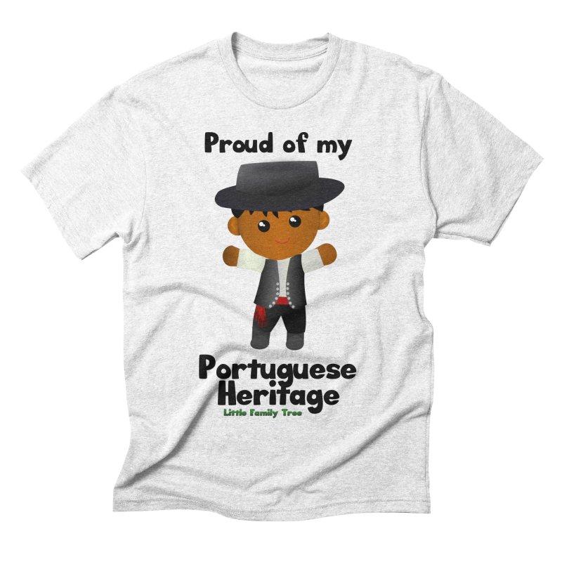 Portuguese Heritage Boy Men's Triblend T-shirt by Yellow Fork Tech's Shop