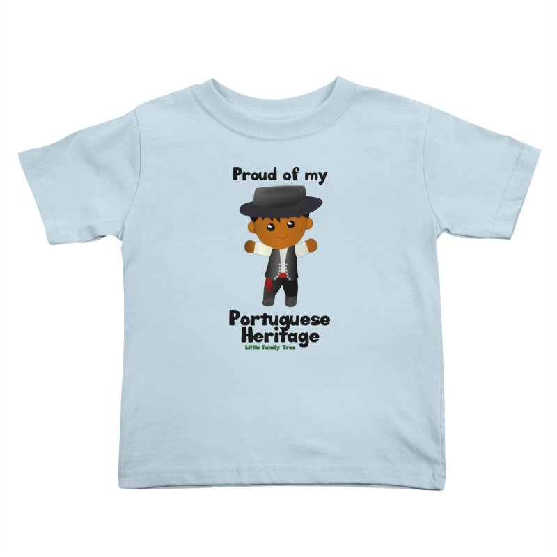 Portuguese Heritage Boy Kids Toddler T-Shirt by Yellow Fork Tech's Shop