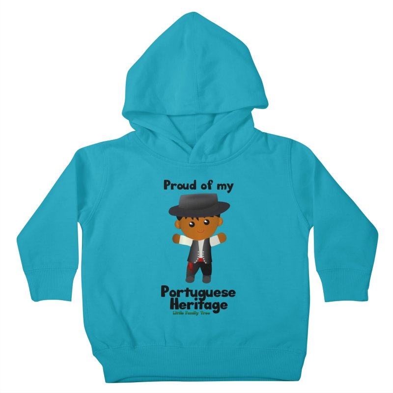 Portuguese Heritage Boy Kids Toddler Pullover Hoody by Yellow Fork Tech's Shop