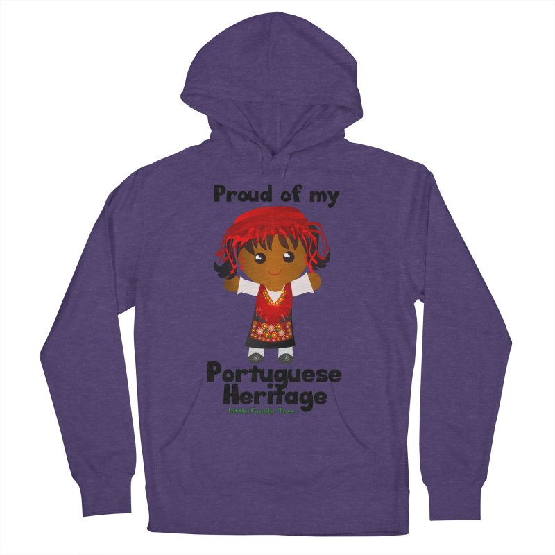 Portuguese Heritage Girl Women's Pullover Hoody by Yellow Fork Tech's Shop