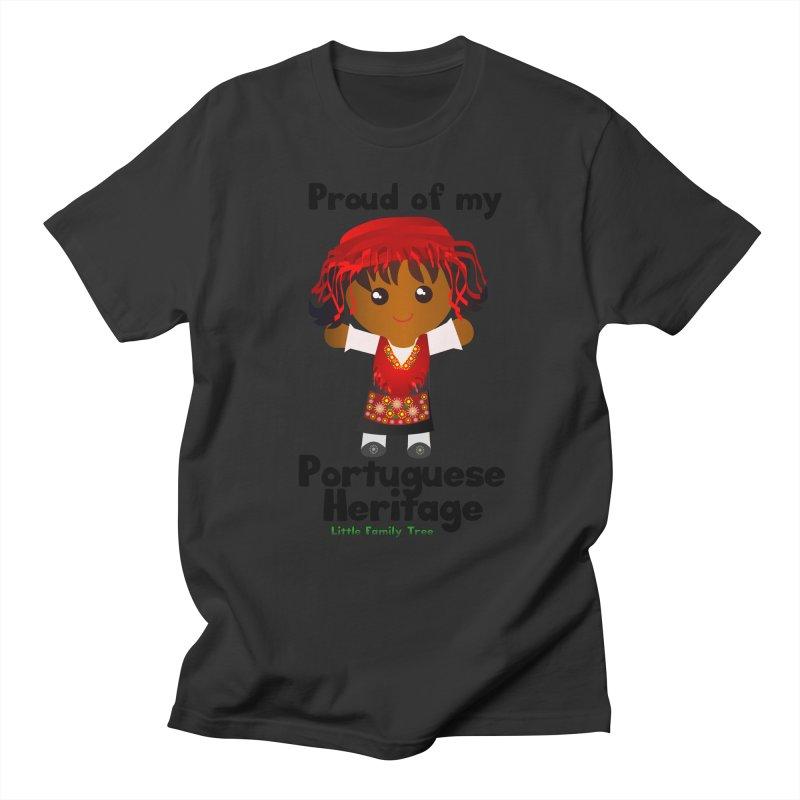 Portuguese Heritage Girl Women's Unisex T-Shirt by Yellow Fork Tech's Shop