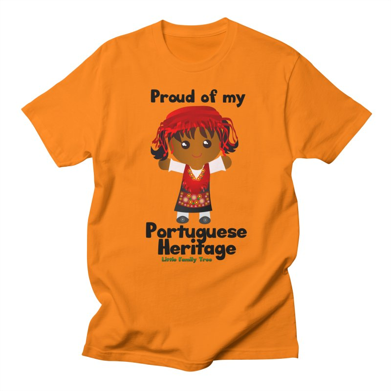 Portuguese Heritage Girl Women's Unisex T-Shirt by Yellow Fork Tech's Shop