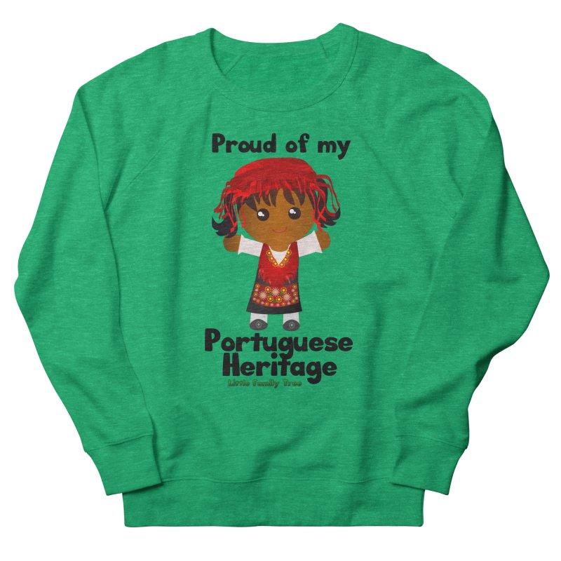 Portuguese Heritage Girl Women's Sweatshirt by Yellow Fork Tech's Shop
