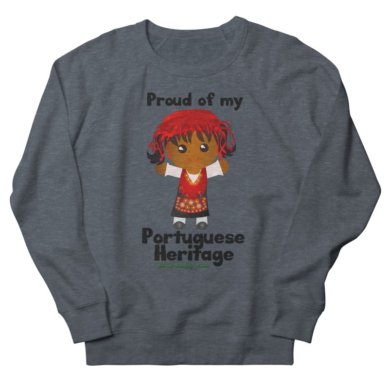 Portuguese Heritage Girl Women's Sweatshirt by Yellow Fork Tech's Shop
