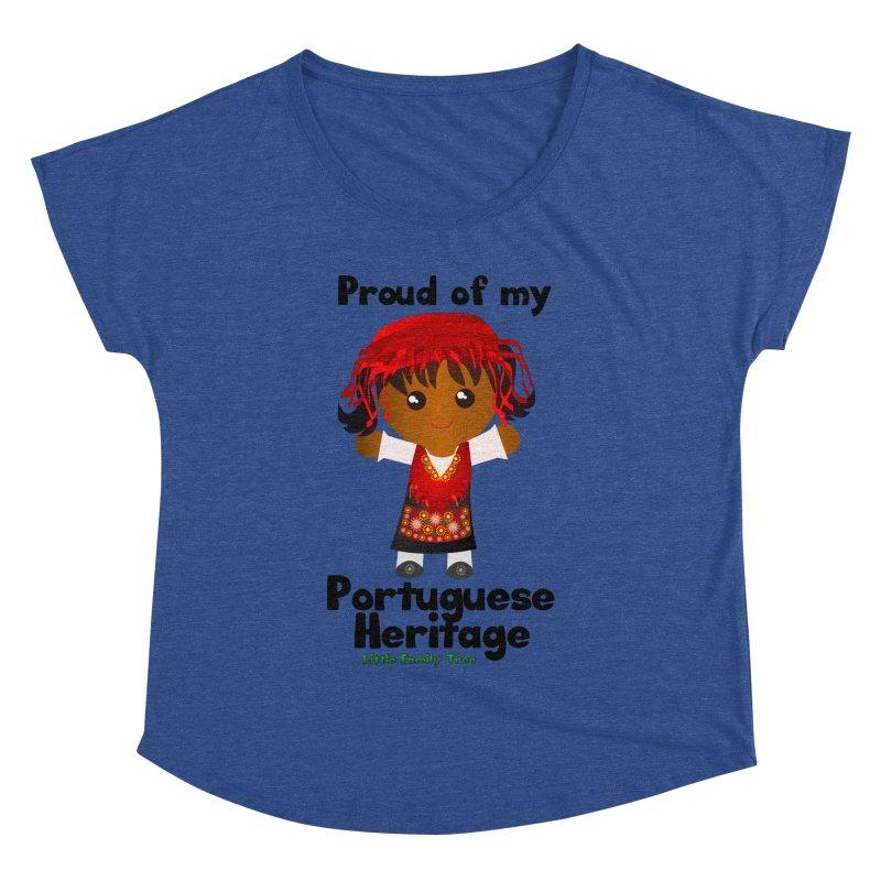 Portuguese Heritage Girl Women's Dolman by Yellow Fork Tech's Shop