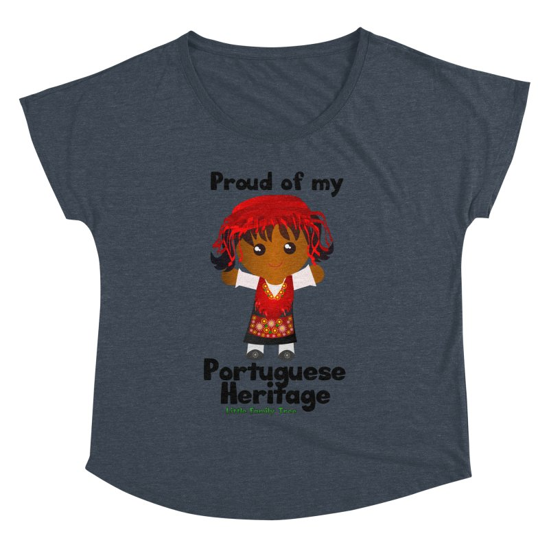 Portuguese Heritage Girl Women's Dolman by Yellow Fork Tech's Shop