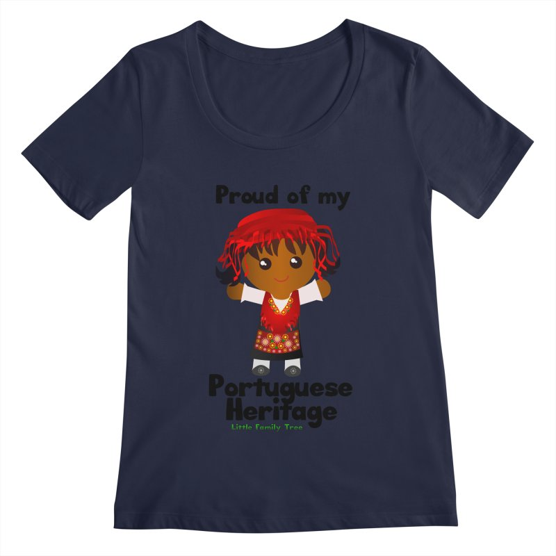 Portuguese Heritage Girl   by Yellow Fork Tech's Shop