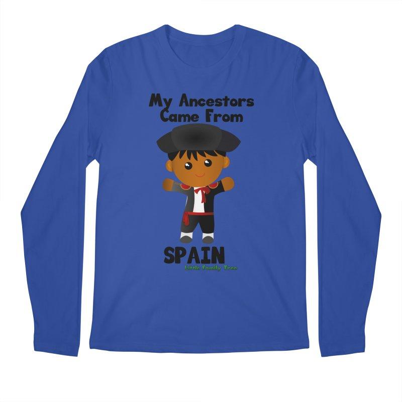Spain Ancestors Boy Men's Longsleeve T-Shirt by Yellow Fork Tech's Shop