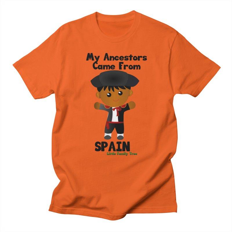Spain Ancestors Boy Men's T-shirt by Yellow Fork Tech's Shop