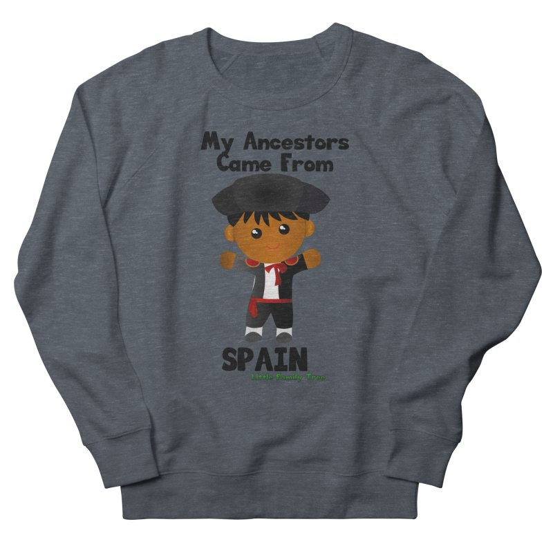 Spain Ancestors Boy Men's Sweatshirt by Yellow Fork Tech's Shop