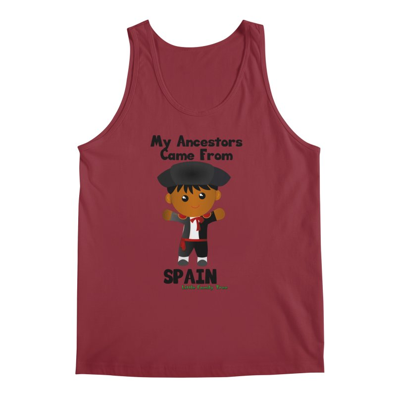 Spain Ancestors Boy Men's Tank by Yellow Fork Tech's Shop