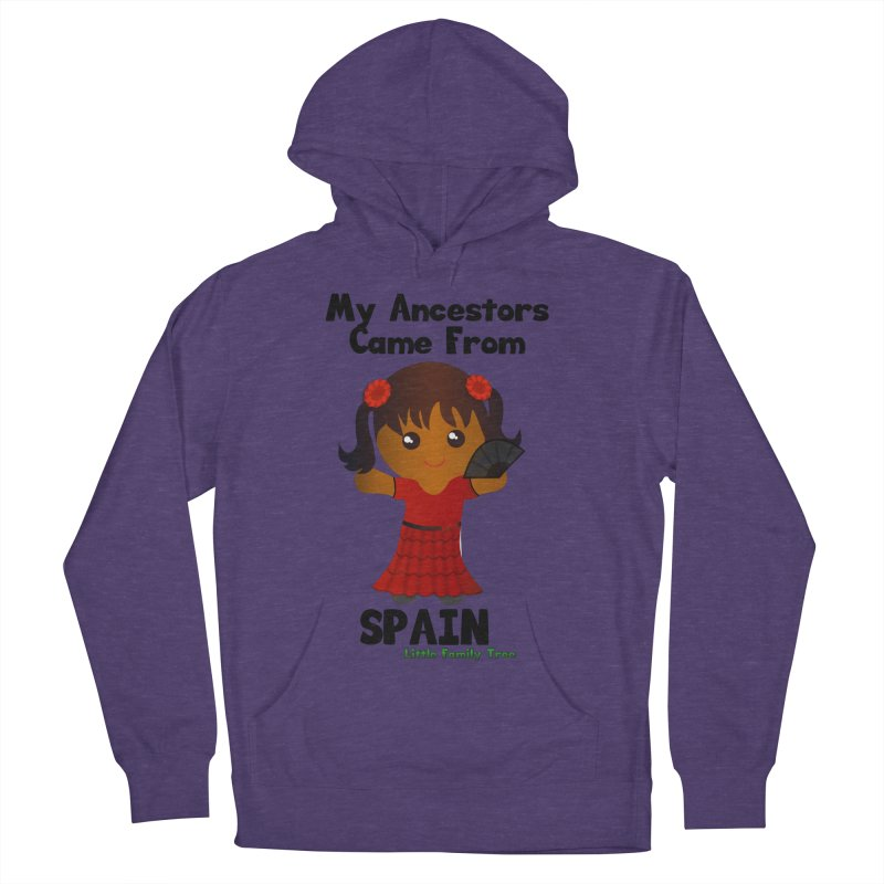 Spain Ancestors Girl Women's Pullover Hoody by Yellow Fork Tech's Shop