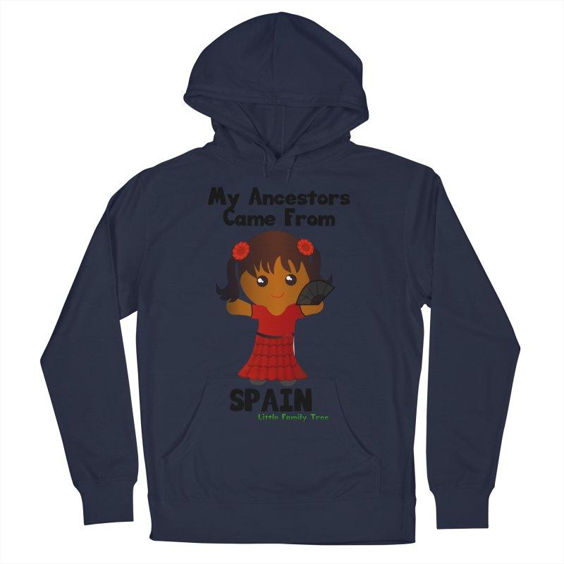 Spain Ancestors Girl Women's Pullover Hoody by Yellow Fork Tech's Shop