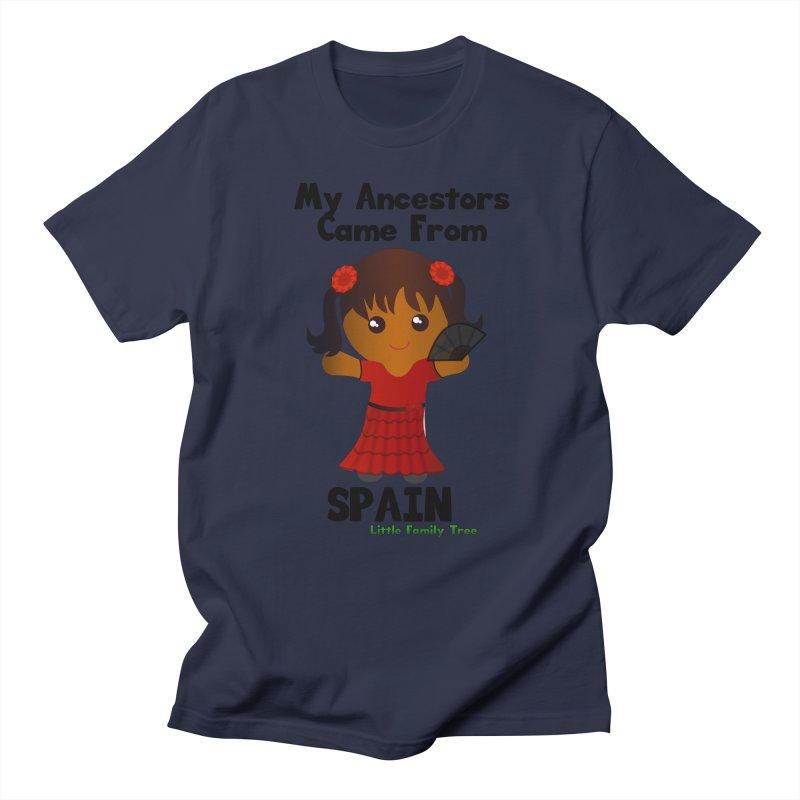 Spain Ancestors Girl Women's Unisex T-Shirt by Yellow Fork Tech's Shop