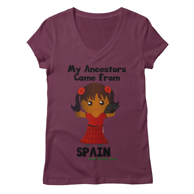 Spain Ancestors Girl   by Yellow Fork Tech's Shop