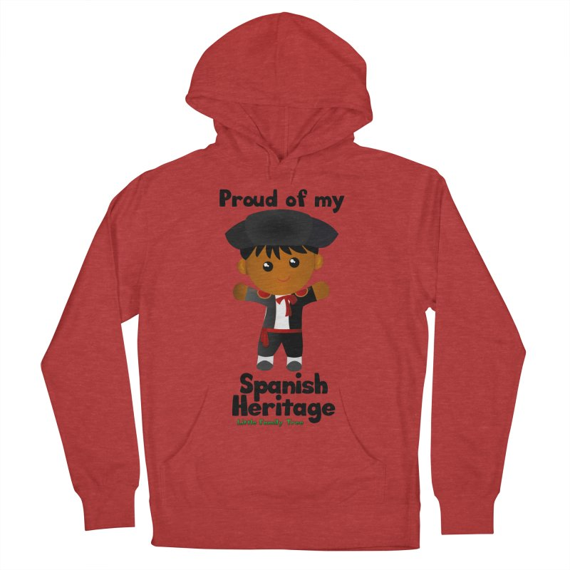 Spanish Heritage Boy Men's Pullover Hoody by Yellow Fork Tech's Shop