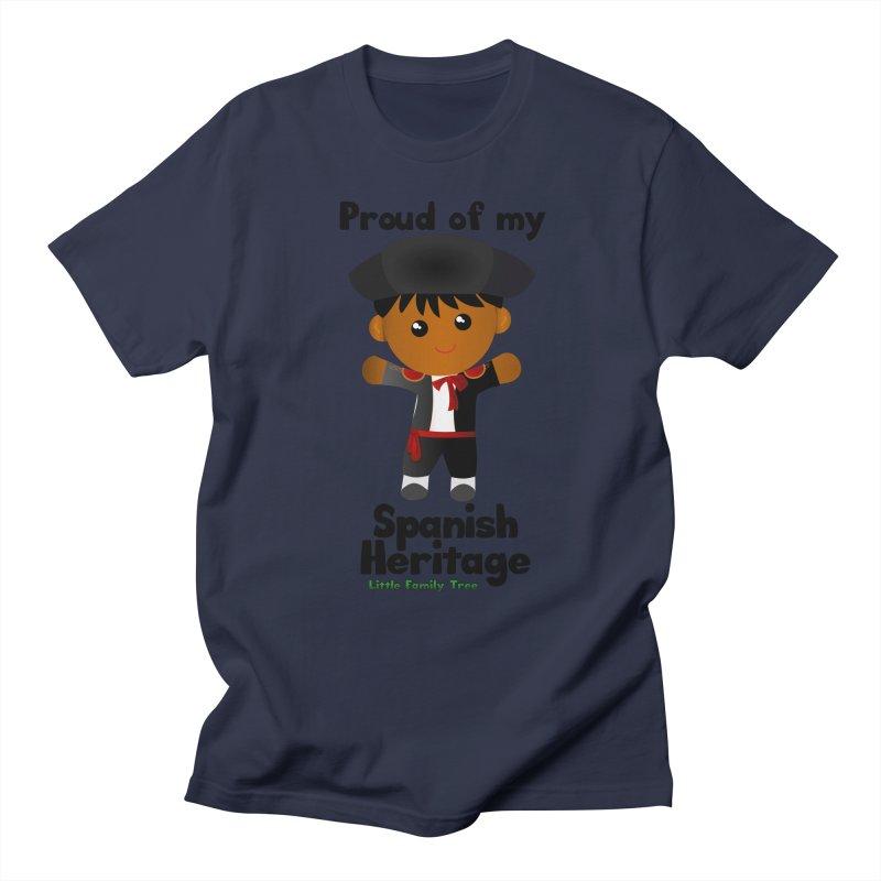 Spanish Heritage Boy Men's T-Shirt by Yellow Fork Tech's Shop