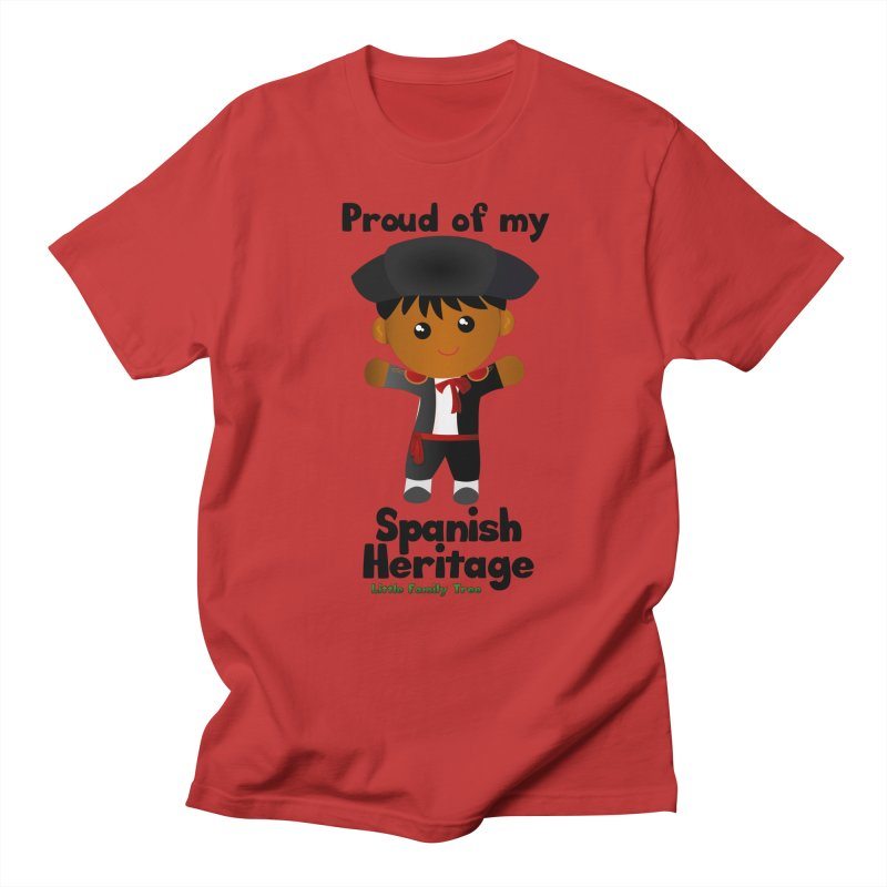 Spanish Heritage Boy Men's T-Shirt by Yellow Fork Tech's Shop