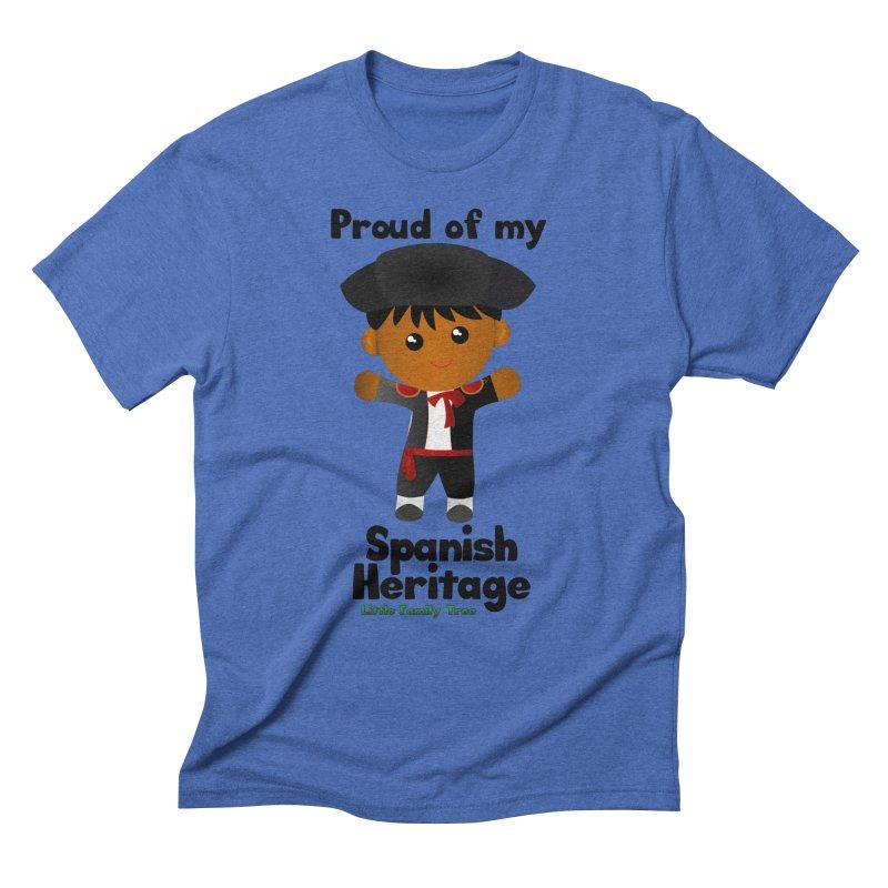 Spanish Heritage Boy Men's Triblend T-shirt by Yellow Fork Tech's Shop