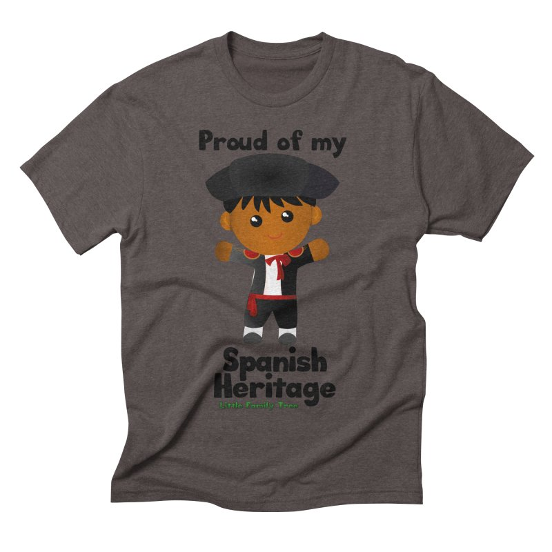 Spanish Heritage Boy Men's Triblend T-shirt by Yellow Fork Tech's Shop