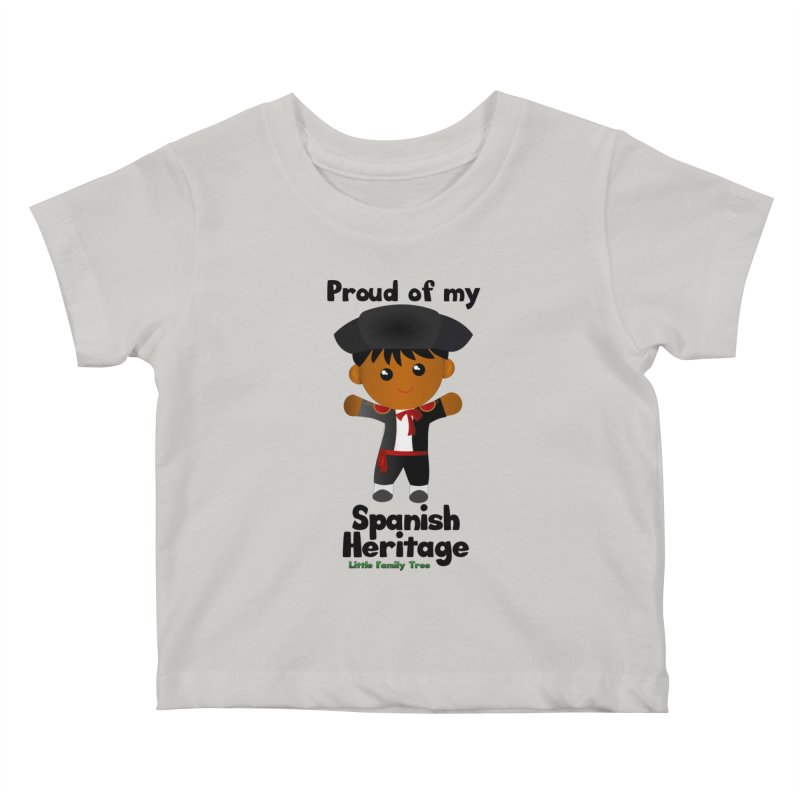 Spanish Heritage Boy Kids Baby T-Shirt by Yellow Fork Tech's Shop