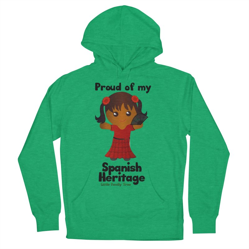 Spanish Heritage Girl Women's Pullover Hoody by Yellow Fork Tech's Shop