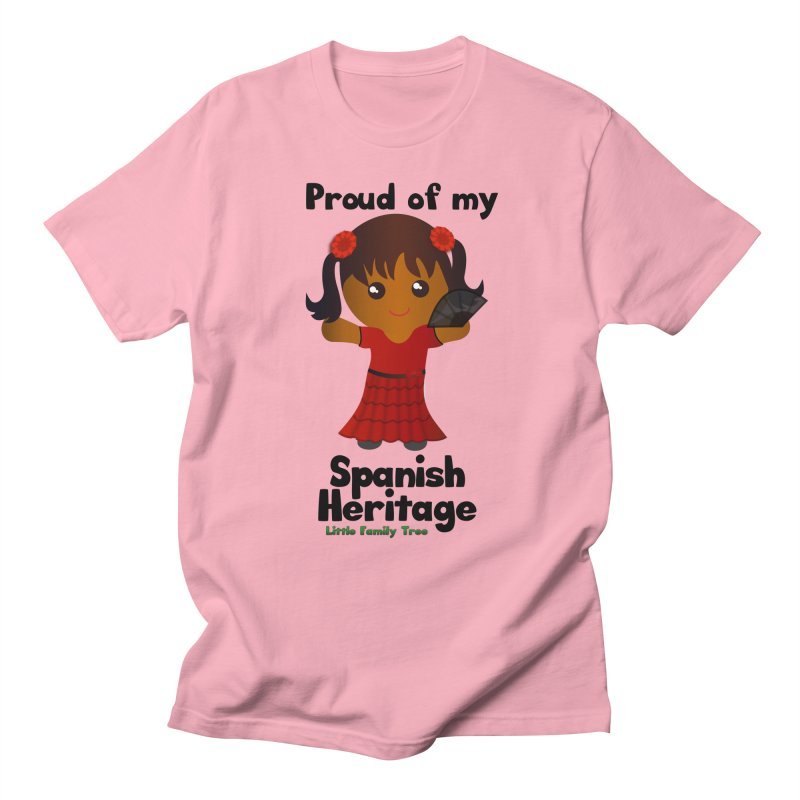 Spanish Heritage Girl Women's Unisex T-Shirt by Yellow Fork Tech's Shop
