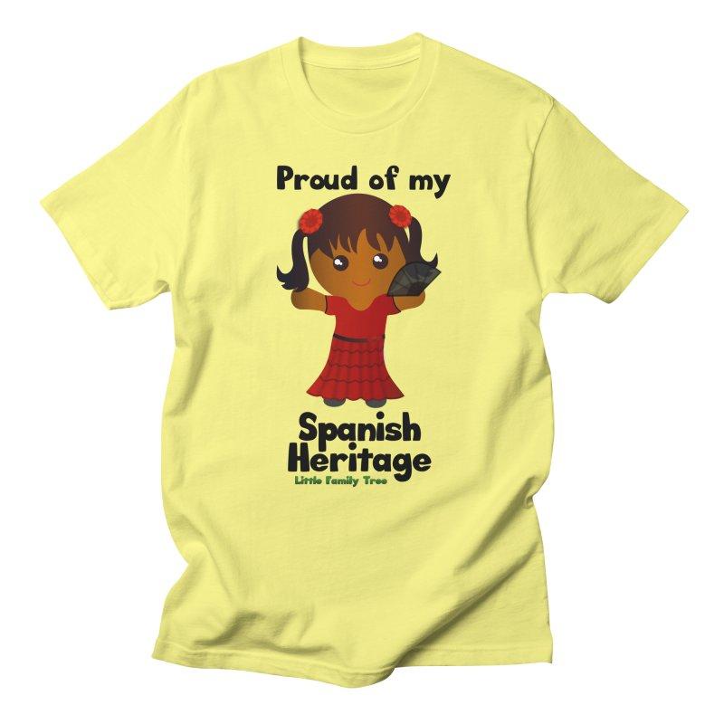 Spanish Heritage Girl Women's Unisex T-Shirt by Yellow Fork Tech's Shop