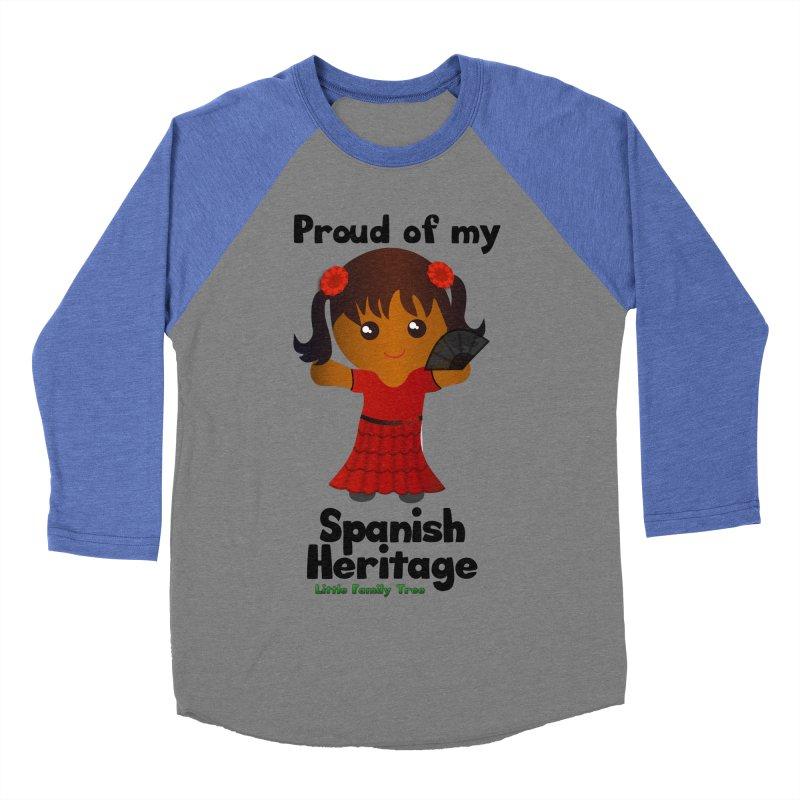 Spanish Heritage Girl Women's Baseball Triblend T-Shirt by Yellow Fork Tech's Shop